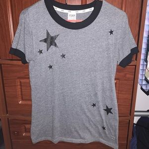 Pink Faded Star tee